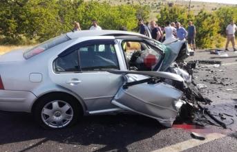 Malatya'da ölümlü trafik kazası! Ölü ve yaralılar var