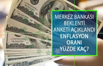 Merkez Bankası Beklenti Anketini Açıkladı! Haziran Ayı Enflasyon Oranı