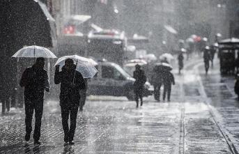 Meteoroloji'den kuvvetli yağış uyarısı! İstanbul, Ankara, İzmir, Adana, Gaziantep hava nasıl olacak?
