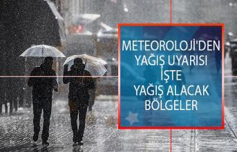 Meteoroloji'den Yağış Uyarısı! Hangi İllerde Yağış Bekleniyor? İşte Son Hava Tahmin Raporu