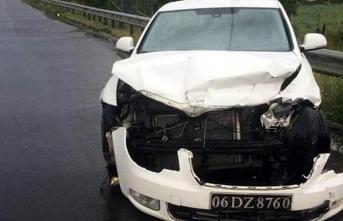MHP'li Kırıkkale Sulakyurt Belediye Başkanı İsmail Bildik Trafik Kazası Geçirdi!