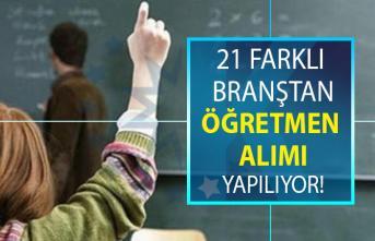 Öğretmen alımı yapan özel eğitim kurumları iş ilanları! İŞKUR tarafından tam 21 branştan öğretmen alımı yapılacaktır!