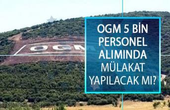 Orman Genel Müdürlüğü (OGM) 5 Bin Personel Alımında Mülakat Olacak Mı?