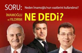 İsmail Küçükkaya:  Rakibinizin 18 günlük bir başkanlığı var... Sizin partiniz 25 yıldır İstanbul'u yönetiyor. Neden bu güne kadar bu vaatler yapılmadı?