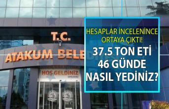 Samsun Atakum Belediyesi'nde et skandalı!