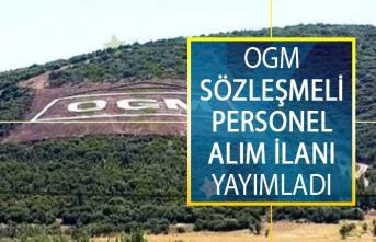 Tarım ve Orman Bakanlığı, Orman Genel Müdürlüğü (OGM) Sözleşmeli Personel Alım İlanı Yayımladı!