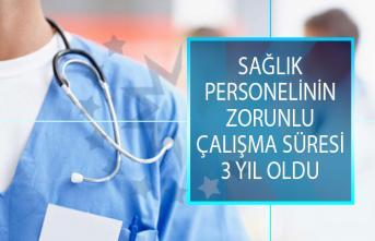 TBMM'de Kabul Edildi! Sağlık Personelinin Zorunlu Çalışma Süresi 3 Yıl Oldu