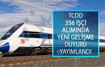 TCDD İŞKUR 356 İşçi Alımında Yeni Gelişme! Sözlü Sınav Duyurusu Yayımlandı