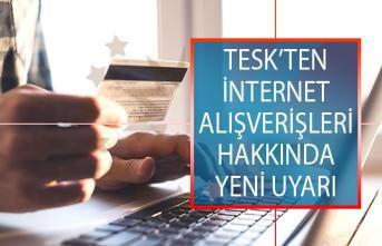 TESK'ten İnternet Alışverişleri Hakkında Uyarı! Yanıltıcı İndirim Kampanyalarına Dikkat Edin