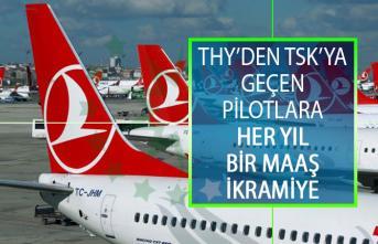 THY'den TSK'ya Geçen Pilotlara Her Yıl Bir Maaş İkramiye Ödemesi Yapılacak!