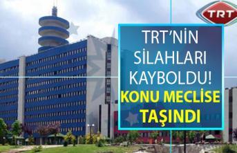 TRT'de bir skandal daha ortaya çıktı! TRT'nin silahları kayboldu ve polise 5 gün sonra bildirildiği öğrenildi!