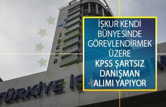 Türkiye İş Kurumu (İŞKUR) Kendi Bünyesinde Görevlendirmek Üzere KPSS Şartsız Danışman Alımı Yapacak