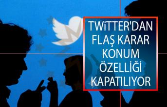 Twitter'dan Flaş Karar! Konum Özelliği Kapatılıyor