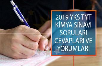 TYT Kimya Sınavı Soruları, Cevapları ve Yorumları 15 Haziran 2019 YKS ÖSYM