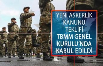 Yeni Askerlik Kanunu Teklifi TBMM Genel Kurulu'nda Kabul Edildi!
