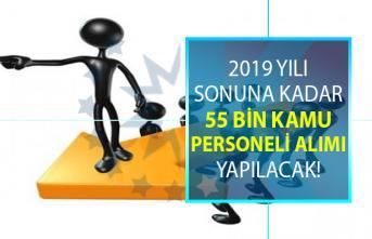 Yıl sonuna kadar en az ilköğretim, lise, önlisans mezunu olarak KPSS şartlı ve Şartsız 55 bin sözleşmeli personel alımı yapılması planlanıyor!