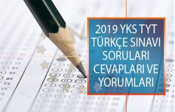 YKS 2019 TYT Türkçe Sınavı Soruları, Cevapları ve Yorumları 15 Haziran 2019!