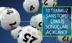 10 Temmuz Şans Topu Çekiliş Sonuçları Açıklandı! MPİ 10 Temmuz Şans Topu Çekiliş Sonuçları Sorgulama Ekranı