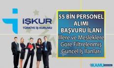 19 Temmuz İŞKUR'da yayınlanan güncel iş ilanları! Her okur düzeyden personel alımı yapan binlerce iş ilanı