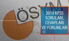 2019 KPSS Alan Bilgisi 1. Oturumu Soruları, Cevapları ve Yorumları! Adaylarla Soruları Değerlendiriyoruz
