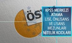 2019 KPSS Merkezi Atama Lise, Önlisans ve Lisans Mezunları İçin Nitelik Kodları! KPSS Nitelik Kodları Nedir?
