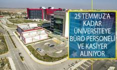25 Temmuz 2019 Tarihine Kadar Afyonkarahisar Sağlık Bilimleri Üniversitesine Daimi Statüsünde Büro Personeli ve Kasiyer Alımı Yapılacak
