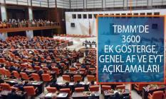 3600 Ek Gösterge, Genel Af ve EYT Açıklamaları Sonrasında TBMM'de Tartışma Çıktı!
