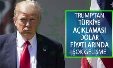 ABD Başkanı Donald Trump'tan Türkiye'ye yaptırım Hakkında Açıklaması! Dolar Fiyatlarında Şok Gelişme