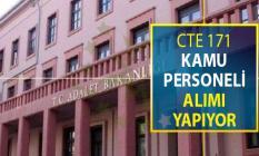 Adalet Bakanlığı 171 Kamu Personeli Alımı Yapıyor