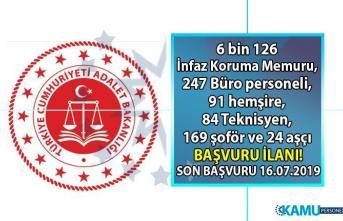 Adalet Bakanlığı 2019 yılı 6 bin 743 sözleşmeli personel alımı başvuruları başladı! Özel başvuru şartları nelerdir?