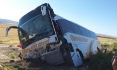 Aksaray-Ankara kara yolununda yolcu otobüsü kazası! trafik kazasında 41 kişi yaralandı