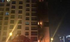 Ankara'nın Etimesgut İlçesinde 160 Dairenin Bulunduğu 16 Katlı Binada Yangın Çıktı!