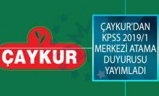 Çay İşletmeleri Genel Müdürlüğü (ÇAYKUR) KPSS 2019/1 Merkezi Atama Kapsamında İstenen Evrakları Açıkladı