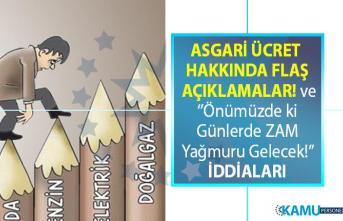 CHP'li Faik Öztrak'tan Asgari Ücret ve 'zam yağmuru sürecek' açıklaması!