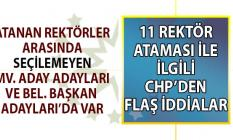 CHP'li Kaya: Cumhurbaşkanı Erdoğan 11 üniversiteye liyakate değil siyasete göre rektör ataması yaptı!