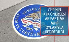 CHP'nin KYK Borcu Araştırma Önergesi AK Parti Ve MHP Oylarıyla Reddedildi