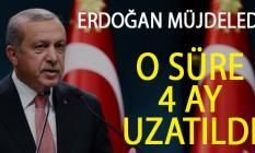 Cumhurbaşkanı Erdoğan Açıkladı! Geçici İşçilerin Çalışma Süresi 4 Ay Uzatıldı!