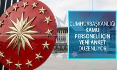 Cumhurbaşkanlığı İnsan Kaynakları Ofisi Polis Memurları İçin Anket Düzenliyor!