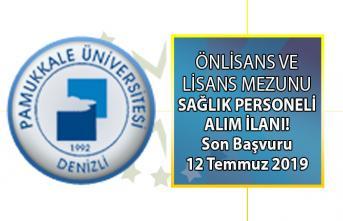 Denizli Üniversitesi en az önlisans ve lisans mezunu sağlık personeli alımı yapıyor! Hemşire alımı başvuru şartları
