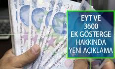 Emeklilikte Yaşa Takılanlar (EYT) ve 3600 Ek Gösterge Hakkında Açıklama: Meclis'ten Çıkaracağız
