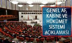 Genel Af ve Ceza İndirimi, Kabine Revizyonu ve Cumhurbaşkanlığı Hükümet Sistemi Hakkında AK Parti'den Önemli Açıklama!
