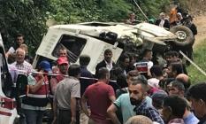 Giresun'un Espiye ilçesinde feci kaza! 7 kişi öldü 4 kişi yaralandı