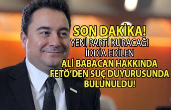 Hazine eski çalışanı Ali Çevik Ali Babacan Hakkında Savcılığa FETÖ'den suç duyurusunda bulundu!