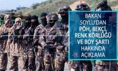 İçişleri Bakanı Süleyman Soylu'dan PÖH, Bekçi, Renk Körlüğü ve Boy Şartı Hakkında Açıklama!