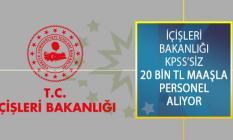 İçişleri Bakanlığı KPSS Şartsız En Az 20 Bİn TL Maaşla Sözleşmeli Bilişim Personeli Alım İlanı Yayımladı!