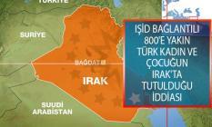 IŞİD Bağlantılı 800'e Yakın Türkiye Kökenli Kadın Ve Çocuk Irak'ta Tutulduğu İddiası!