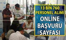 İŞKUR 17-30 Temmuz KPSS Şartsız 13 bin 760 personel alımı için iş ilanları online başvuru sayfası!