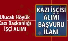 İŞKUR aracılığı ile  31 Ağustos'a kadar Höyük kazı Başkanlığı tarafından 15 kazı işçisi alımı yapacaktır.