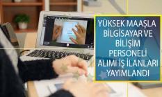 İŞKUR'dan 32 Farklı Kadro İçin Yüksek Maaşla Bilgisayar ve Bilişim Personeli Alımı İş İlanları Yayımlandı!