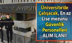 İŞKUR üzerinden Üniversite bünyesinde çalıştırılmak üzere çok sayıda güvenlik personeli alımı yapılacaktır! Peki İŞKUR güvenlik alımı iş başvurusu nasıl yapılır?